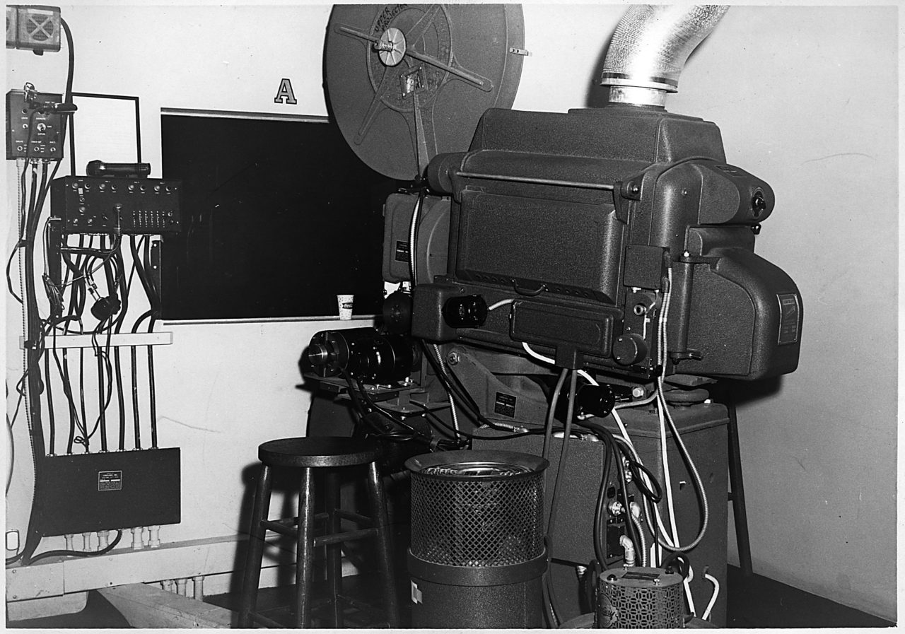 Projection Equipment - c. 1963