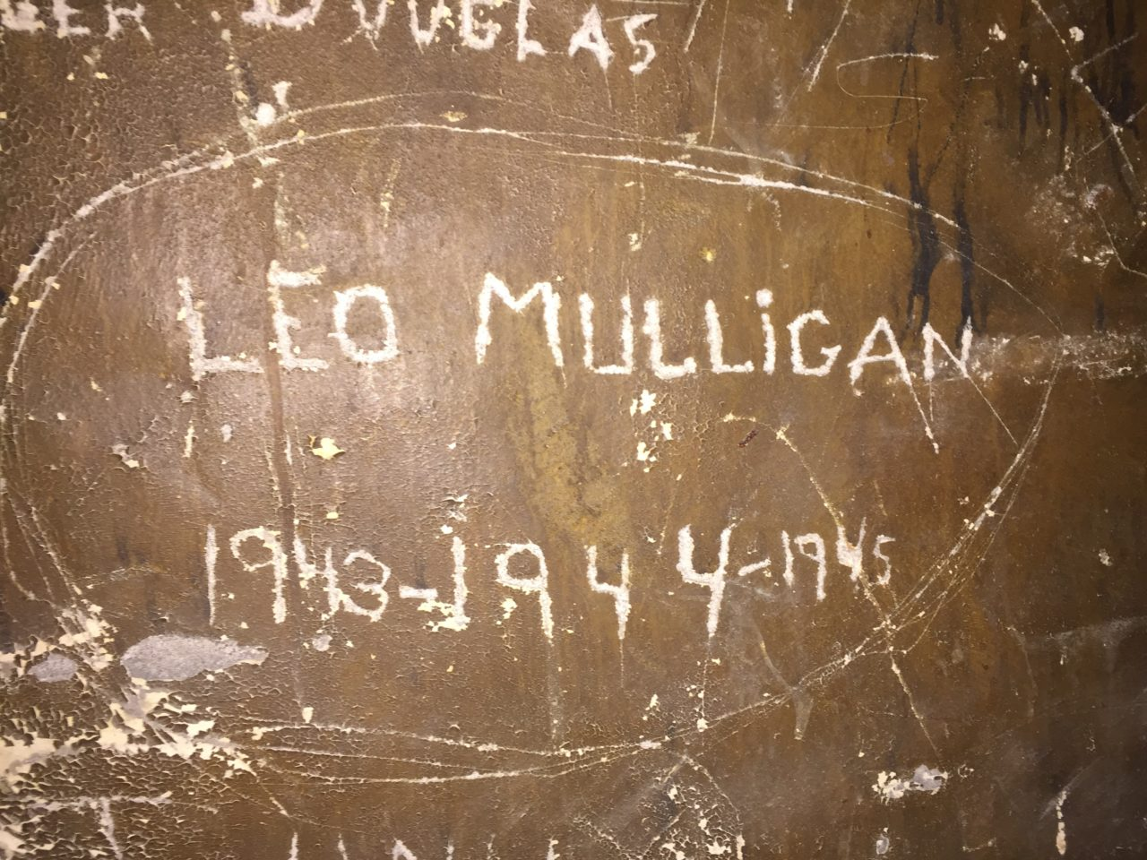 Graffiti from 1940s